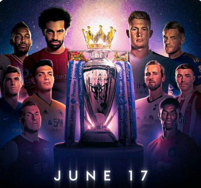 English Premier League returns