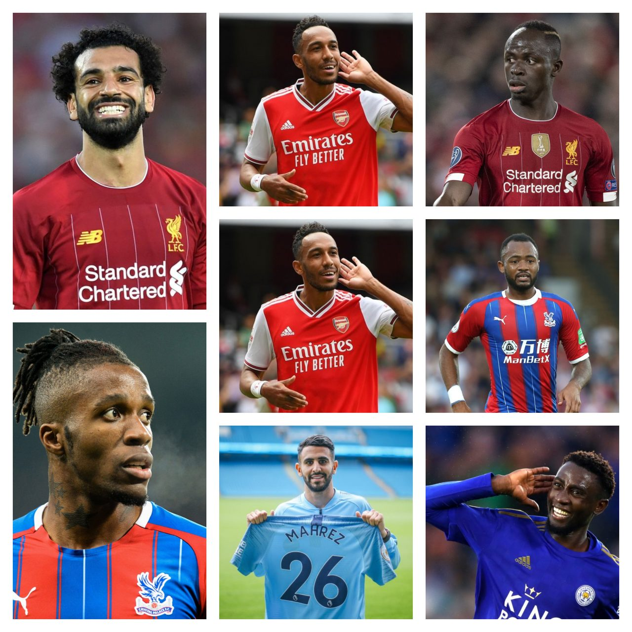 EPL Top 10 African stars