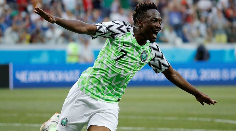 Ahmed Musa ultimate moment at the 2014 FIFA World Cup